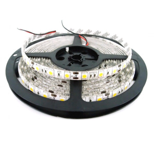 BANDA LED 12V 60LED/M 14.4W/M Ip65 R5050 6400K 5Ml Lumina Rece