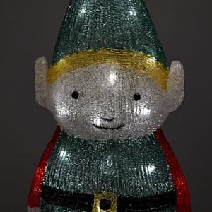 Elf de Gradina cu LED-uri