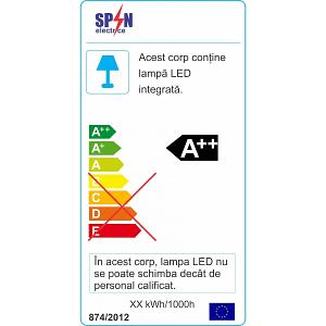 Spot LED Incastrabil Scara 6W 6400K