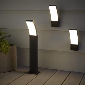 Gambell Aplica LED de Exterior cu Picior 12W