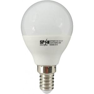 led-ieftin.ro Bec Bl Led Sferic E14 5W 220V 6400K G45 Lumina Rece
