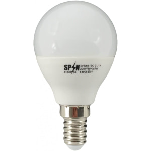 Bec Bl Led Sferic E14 7W 220V 2700K G45 Lumina Calda