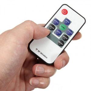 Mini Controller Banda LED RGB 12V cu Telecomanda RF 10 Taste