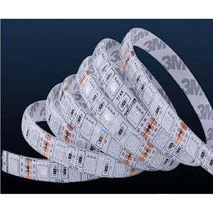 Banda LED RGB IP20 12V 14.4W/M 60 LED/M 5050 - Rola 5 m