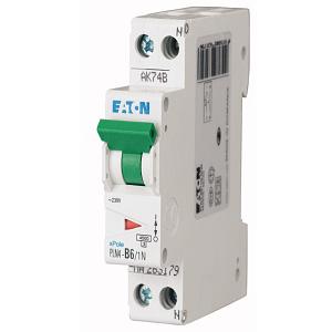 Siguranta Automata Eaton PLN4 C10/1N-DE 1pol+N 10A