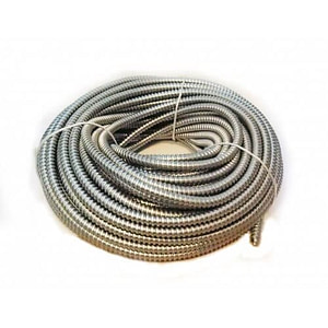Copex 14mm (rola 50m) - Tub riflat metalic zincat