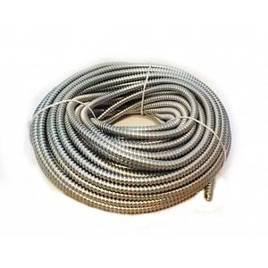 Copex 16mm (rola 50m) - Tub riflat metalic zincat