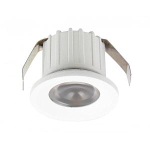 Spot LED Slim Patrat Incastrabil Mobila / Rigips 3W 4100K