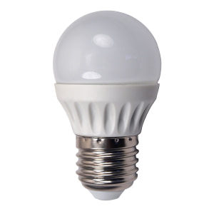 led-ieftin.ro Caracteristici Optice Kelvin 2700K Kelvin(k) Lumina Calda Lumeni 240 Specificatii Consum(W) 3W Durata Medie De Viata 35000 Dulie E27 Dimensiune G45 Clasa Energetica A+ Alimentare Tensiune Intrare(V) 220V Ambalaj EAN 5