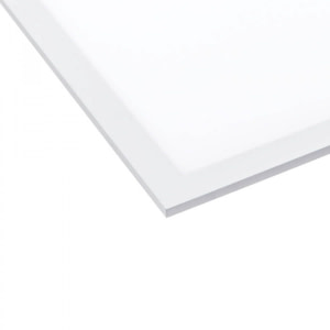 Panou Led 295x1195 mm cu Rama alba 36W + Kit Montare 300x1200 mm