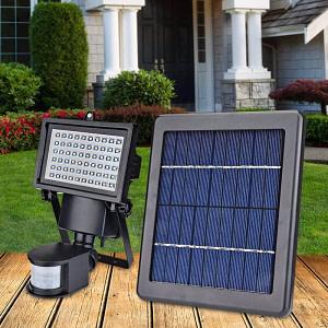Proiector Led Garaj cu Panou Solar si Senzor de Miscare 3W