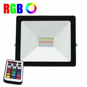 Proiector LED 20W RGB 16 culori IP 65 telecomanda inclusa