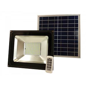 Proiector Solar LED 50W 7,4V 10000mAh cu Telecomanda