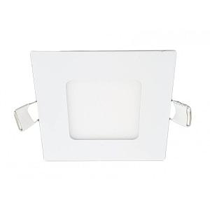 Spot LED Slim Patrat 85x85 mm 3W=25W 2700K