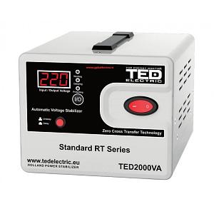 Stabilizator Retea cu Servomotor TED2000SVC