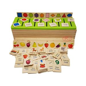 Sortator Montessori cu 88 de piese in limba romana/engleza