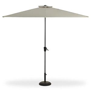Umbrela de gradina Blooma Pali 242 x 228 x 124 cm taupe