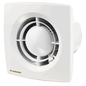 Ventilator axial Domovent, 125 mm, 16 W, 177 x 140 x 114 mm