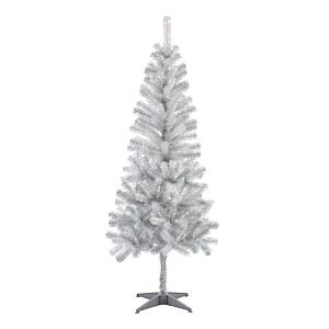 Brad artificial gri argintiu, 183 cm