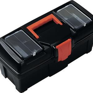 Cutie pentru scule Prosperplast Mustang, 15 inch, inchizatori plastic, tava interioara, 40x20x18.6 cm