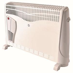 Convector electric cu functie de programare, 2500 W, 3 trepte, alb