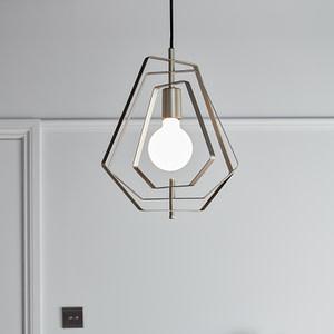 Pendul sfera GoodHome Nedoki, argintiu, 1xE27, cablu reglabil, design modern