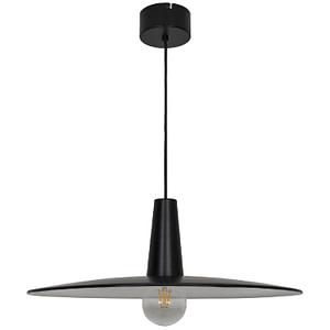 Pendul sfera GoodHome Hibonit, negru, metalic, 1xE27